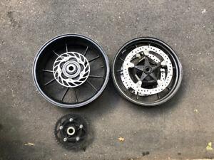 BMW S1000RR wheels