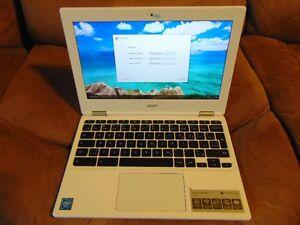 Acer Chromebook 11 CB3-131 White