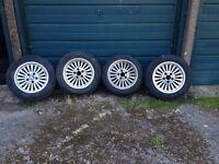 BMW e39 16 inch alloy Turbine Alloy Wheels e46 e36