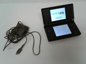 Nintendo DS Lite, charger and Brain Age - Excellent condition