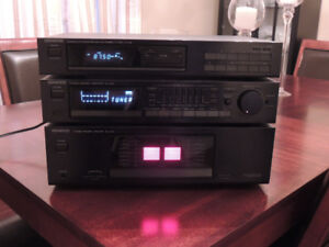 Kenwood Stereo System- Tuner,Preamp, 150watts/ch rms Power Amp
