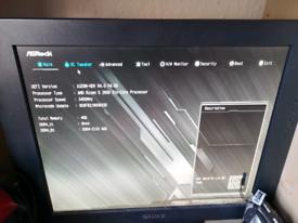 ASRock A320M-HDV + AMD A8 9600