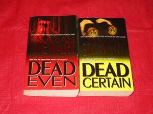 2x Mariah Stewart paperback novels Kingston Kingston Area image 1