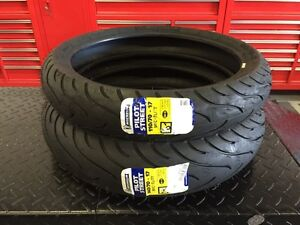★★ NEW Michelin Pilot Street Motorcycle Tires Set CBR 250 R3 ★★