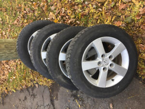 Mags and Winter tires for Mazda 15 inch