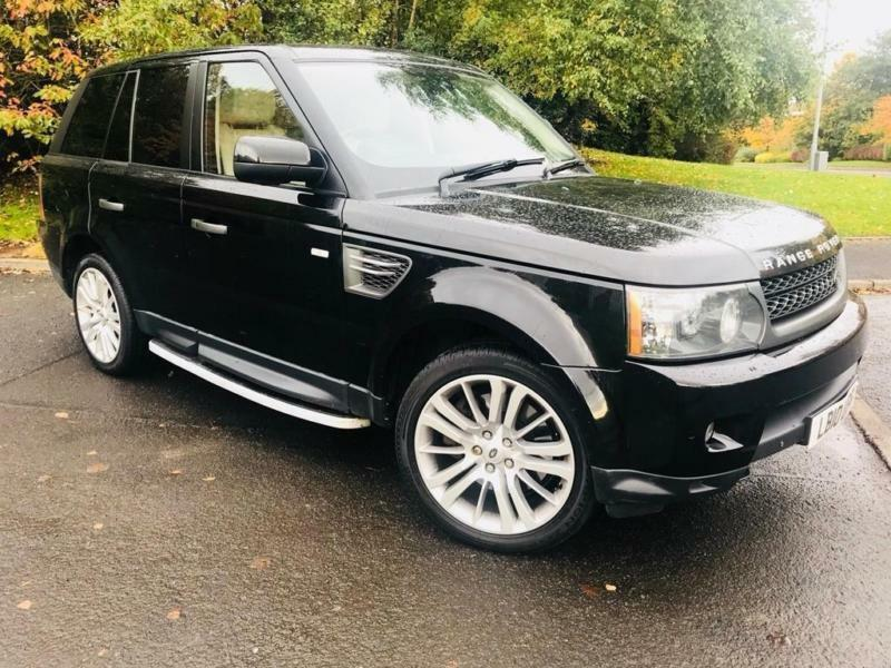 2010 land rover range rover sport 3 0 td v6 hse 5dr in. Black Bedroom Furniture Sets. Home Design Ideas