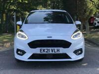 2021 Ford Fiesta 1.0 EcoBoost 125 ST-Line X Edn 5dr Auto [7 Speed] HATCHBACK Pet