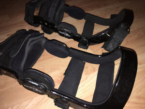 Knee braces - hard and soft - Donjoy - make me an offer