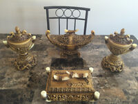 4 pieces beautiful table decoration