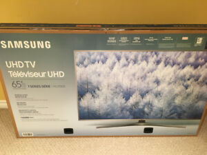 Brand new 65' Samsung UHD 7 Series. Never taken out of the box.