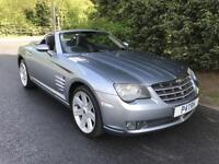 2005 CHRYSLER CROSSFIRE 3.2 V6 ROADSTER 6 SPEED MANUAL SPORTS CONVERTIBLE
