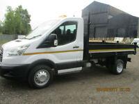 FORD TRANSIT 350 TIPPER £14450+VAT