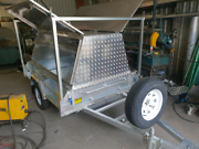 Galvinised tradie trailer North Boambee Valley Coffs Harbour City Preview