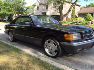Very Rare: 1990 Mercedes Benz 560SEC