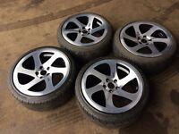 3SDM alloys and tyres