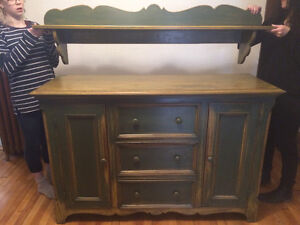 Buffet/Tablette style Antique - Antique Style Sideboard/Shelf