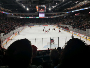Moosehead  Hockey Tickets - Section 1 - Various Games