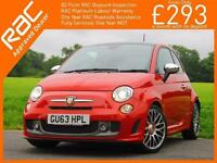 2013 Abarth 595 Turismo T-Jet 1.4 Turbo 160 BHP MTA Auto Sunroof Leather Bluetoo