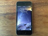 iPhone 5s 16Gb Black And Silver Locked To EE