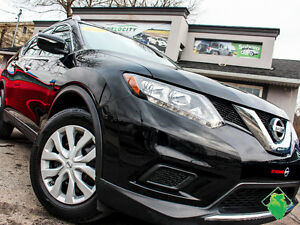 '14 Nissan Rogue S+BackupCam+Warranty+MINT! Only $110/Pmts!!