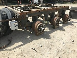 "Used Tridem airirde suspension 49"" Spread"