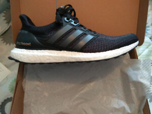 Deadstock Adidas Core Black Ultra Boost 2.0 (Brand New)