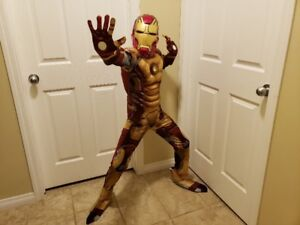 Ironman Costume with real Arc Light Size M (7-8)  $25