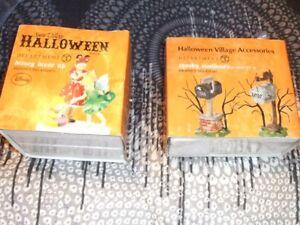Halloween ornaments/ decorations