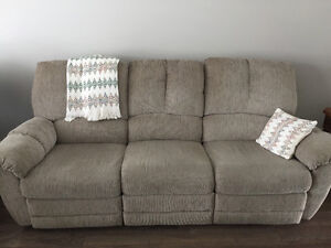 Couch and recliner for sale