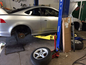 lowering spring & coil-over installation from $150 and up