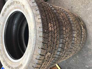 New -Goodyear SRA - 265 65R 18 Tires off 2017 GMC