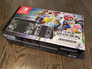 Nintendo switch super smash brothers edition