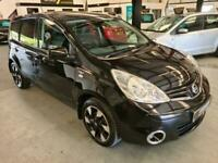 2012 Nissan Note 1.4 N-TEC PLUS SPEC-FSH-BLACK-GREAT SPEC-MUST SEE MPV Petrol Ma