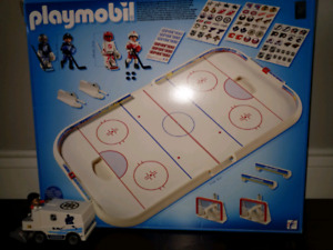 Playmobil NHL hockey play set