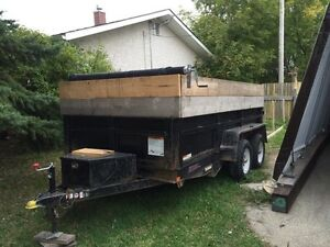 12x6 Dump trailer For Rent or Hire!