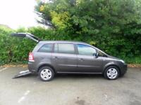 Vauxhall Zafira 1.8i 16v Exclusiv WAV Wheelchair Accessible Vehicle *LOW MILEAGE