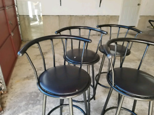 Kitchen Counter swivel Chairs