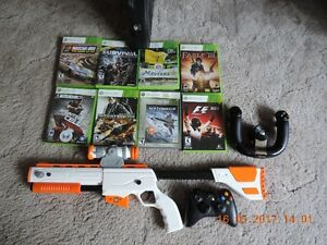 x-box in new condition/w games