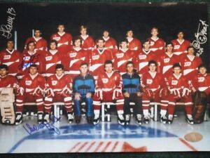 1987 CCCP 12x8 Team Photo With Four Players' Autographs W/COA