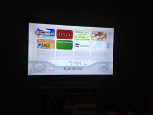 wii 180obo with 2 controllers wii fit board