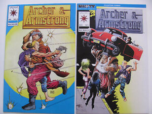 (1992-94) Archer and Armstrong comics  $1.00