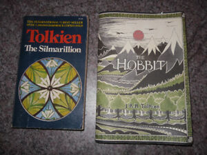 JRR Tolkien - The Hobbit - The Silmarillion - both for $5