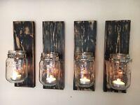 Kilner Jar Candle Holders