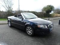 AUDI A4 2.0 Turbo F.S.H Excellent Example Convertible, Blue, Manual, Petrol, 200