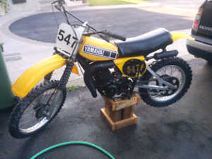 1978 yz 125 *parts bike sold*