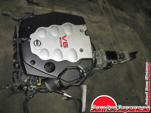 NISSAN 350Z FAIRLADY Z33 ENGINE 6-SPD TRANSMISSION, ECU JDM VQ35