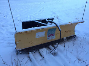 6.5 Foot Snow Wolf Skidsteer Snowplow