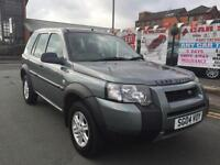 LAND ROVER FREELANDER 1.8 E 2004 *** LOW 47,214 MILES *** TIMING BELT DONE