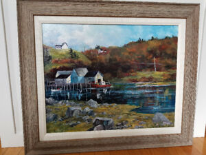 Original Oil painting by M. Parke