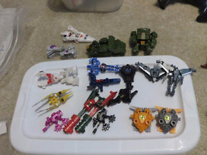 LOT Transformers 3rd Party Prime Arm Micron Figures 18 in all!!
